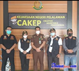 Pengurus Pokdar Kamtibmas Resort Pelalawan Lakukan Audensi Dengan Kejari Pelalawan