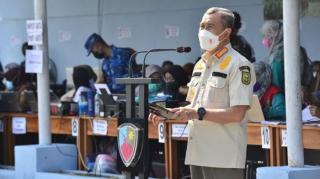 Pandemi Menurun, Gubernur Riau Minta Masyarakat Kab.Siak Patuhi Prokes