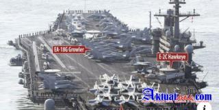 Perang AS - China Mulai, Amerika Siapkan Kekuatan Militer di Laut China Selatan