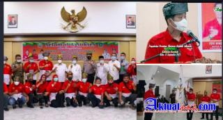 Pengukuhan DPC PWRI Bengkalis Dihadiri Wakil Bupati Bagus Santoso