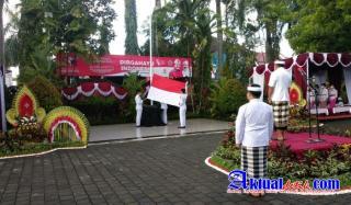 Kapolres Gianyar Hadiri Peringatan Hari Kemerdekaan Republik Indonesia Ke-76