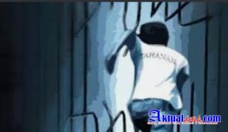 """""""Gawat"""" 19 Tahanan Polsek Medan Labuhan Kabur Dari Ruangan Tahanan"""