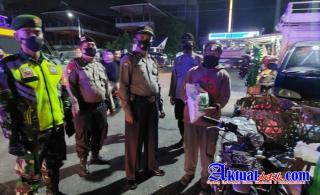 Polres Pematangsiantar Patroli Gabungan Tni-Polri Skala Besar Secara Persuasif dan Simpatik