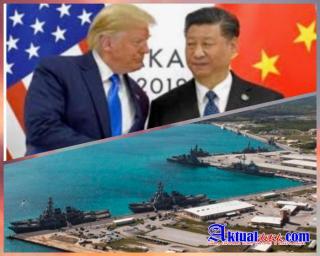 """China """"Geram"""" Terhadap Amerika, Simulasi Perang Beredar"""