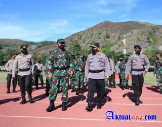 Kapolri ke Jajaran TNI-Polri : Keberhasilan PON Bawa Kehormatan Bangsa