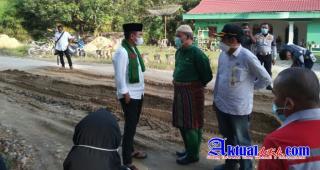 Jalan Rusak di Kecamatan Kerumutan, Bupati Tegaskan Perusahaan Lakukan Perawatan Dari Awal