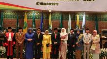 Pelantikan Empat Pimpinan Dewan DPRD Provinsi Riau Periode 2019-2024