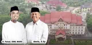 Paisal - Amris Resmi Jabat Sebagai Walikota dan Wakil Walikota Dumai Periode 2021-2024