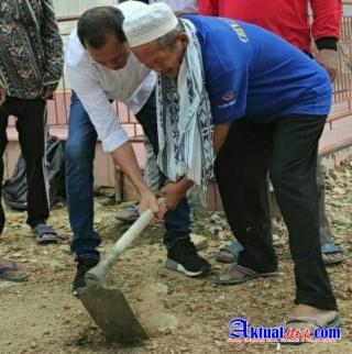 Ketua DPD MCM Babel Kunjungi Masjid Jami Nurul Huda, Ini Yang di Lakukannya..