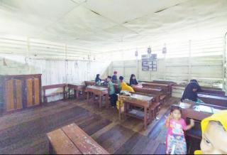 KAMIJO Melihat Langsung Kondisi Sekolah Yang Selama ini Luput Perhatian Pemda