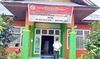 Baliho JPKP Riau Terpampang di Kantor Desa Sibuak, Diduga Apakah Mengambil Poksi Inspektorat ?
