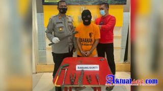 Patroli Polsek Medan Kota Gagalkan Pencurian Kabel Milik Telkom