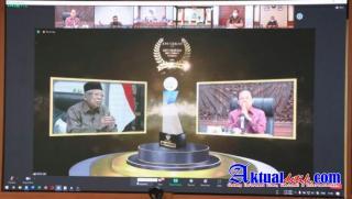 Pemerintah Provinsi Bali Menerima Anugerah Keterbukaan Informasi Publik