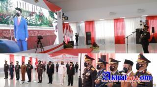 Peringatan Hari Bhayangkara, Kapolda Riau mendapatkan Pujian Kinerja Dari Presiden RI