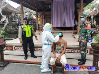 Cegah Penyebaran Covid-19, Satgas Tanguh Dewata Desa Singakerta Optimalkan Tracing