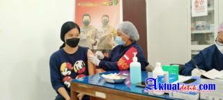 Percepat Pelaksanaan Vaksin Covid-19, Polres Klungkung Adakan Gerai Vaksinasi di Poliklinik