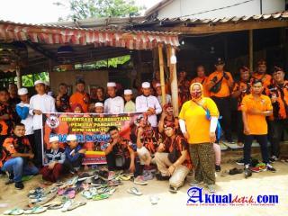 Pemuda Pancasila OK MPW Jateng  Peringati Harlah Dengan Baksos