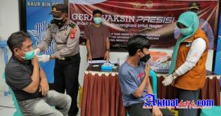 Polda Gorontalo Bersama Pemda Menyiapkan 20 Gerai Vaksin Presisi Untuk Melayani Masyarakat