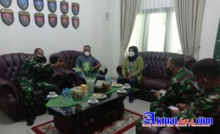 Danrem 031/Wira Bima Riau Terima Kunjungan Silaturahmi dari SAHABAT MEDIA BERSATU