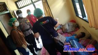 Polres Gianyar Gelar Vaksinasi Door To Door di Desa Tulikup