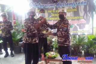 Peringati HUT Ke-43,FKPPI PC 1133 Kota Semarang Anjangsana Ke FKPPI PC 1127 Karanganyar