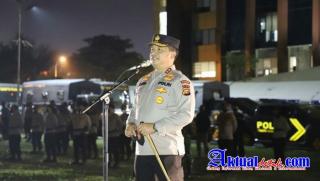 2.302 Personel Jajaran Polda Riau Diterjunkan Dalam Patroli Skala Besar, Bagikan 2.655 Paket Sembako
