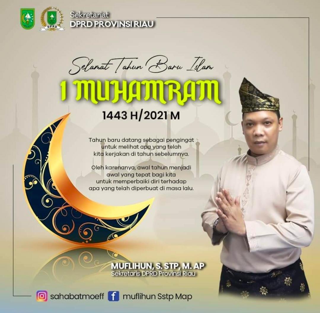 Iklan Ucapan Sekwan DPRD Riau
